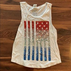 Sequence Flag Pink Tank!